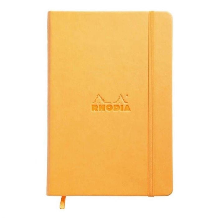 Webnotebook A5 Orange. BLANK