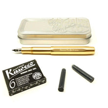 Load image into Gallery viewer, Kaweco AL Sport Gold Limited Edition, B Tip