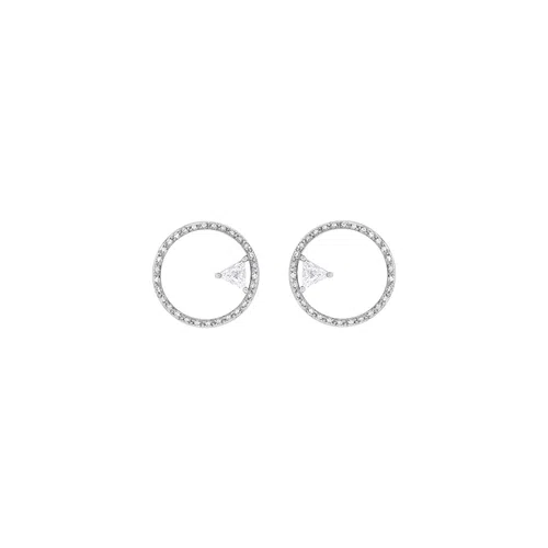 Avant Garde Earring in white gold and diamonds