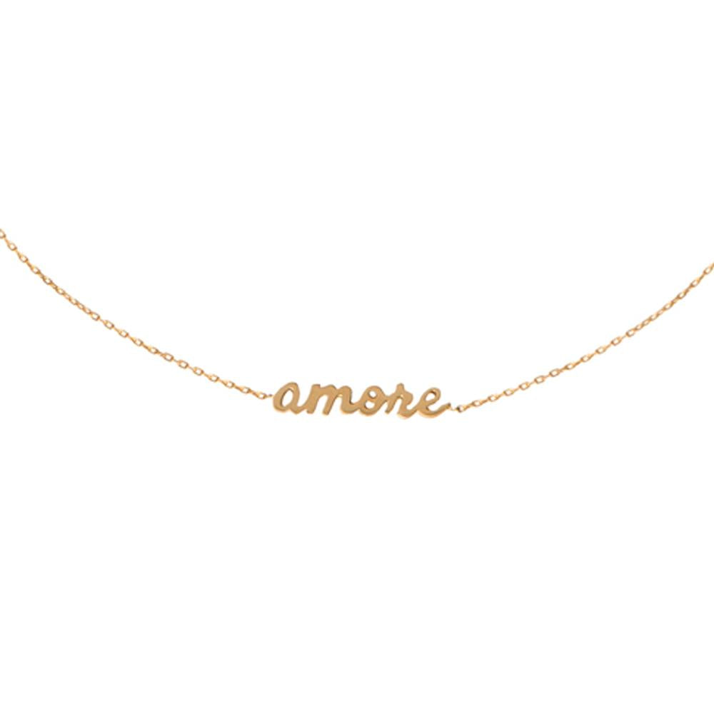 Choker Amore With 18K Yellow Gold