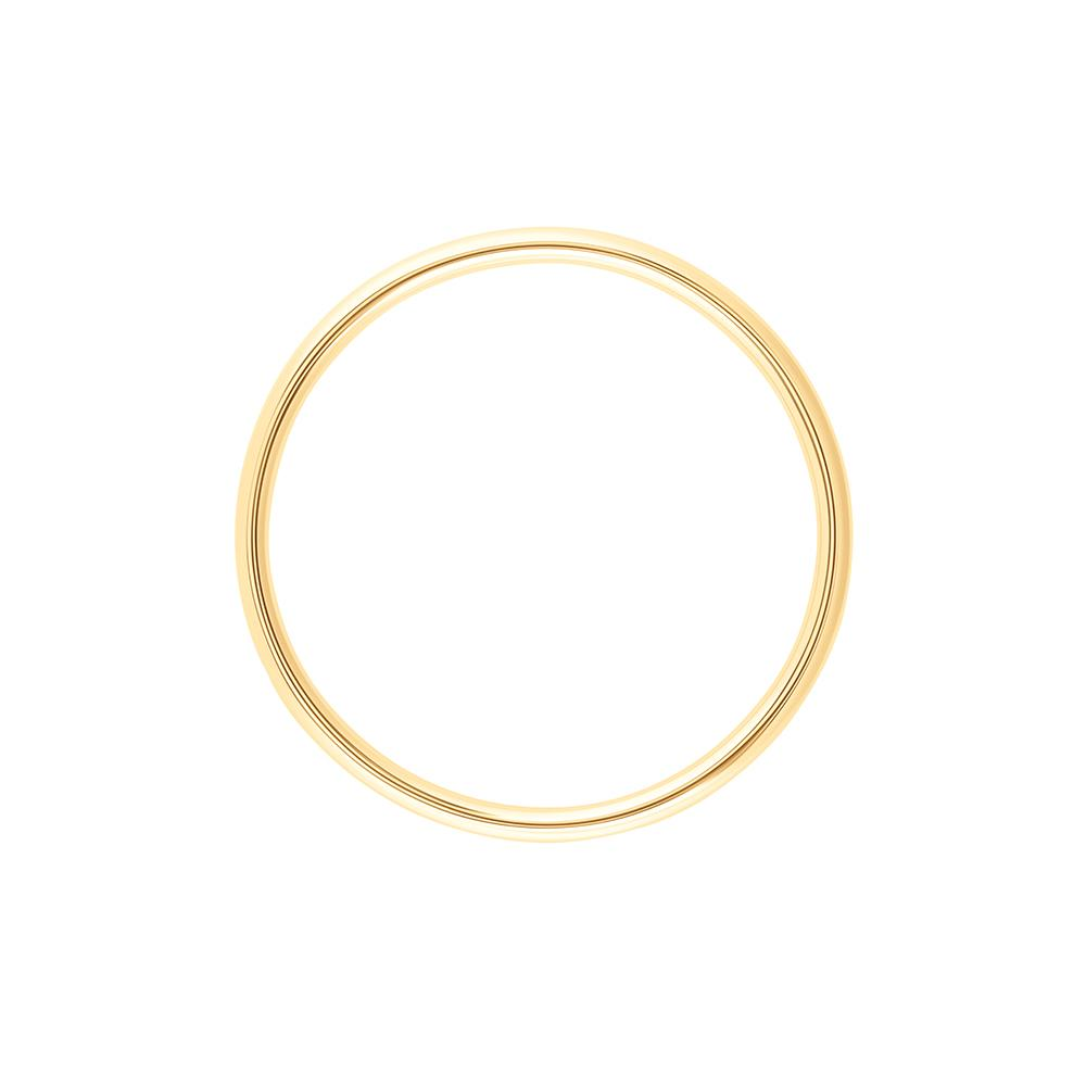 Hoop Pendant With 18K Yellow Gold Plated Silver