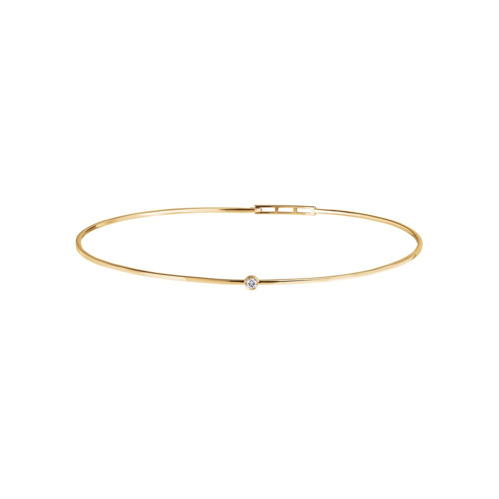 Love Ny Diamond Choker With 18K Yellow Gold