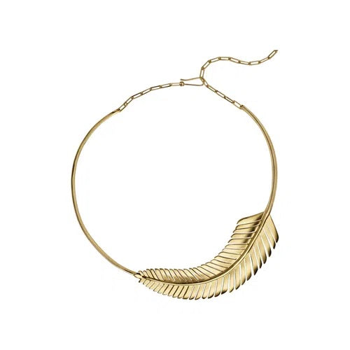 Maxi Tropical Necklace in Sterling Silver Maxi Tropical Necklace In 18K Yellow Gold Vermeil