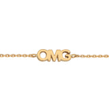 OMG Bracelet With 18K Yellow Gold