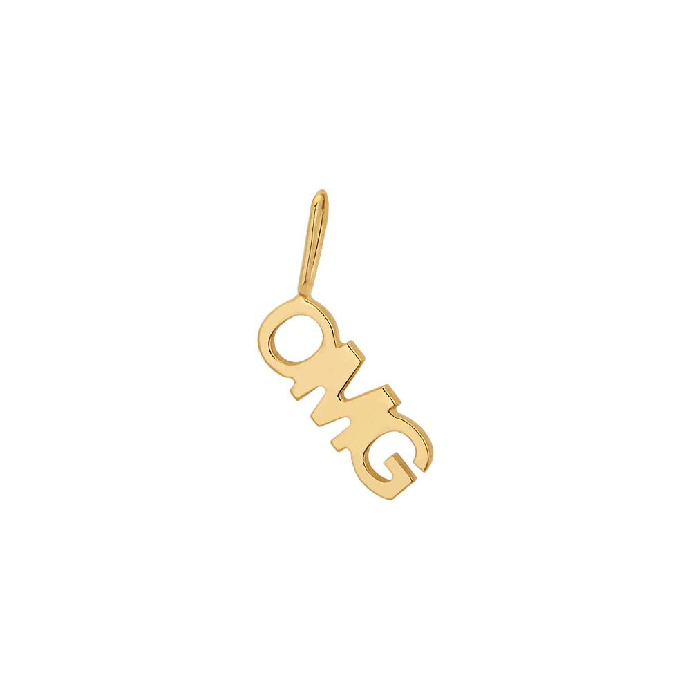 Omg Pendant Piscine With 18K Yellow Gold