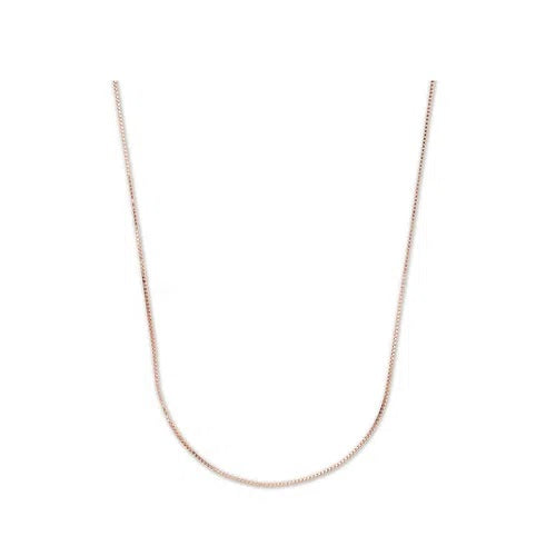 Venetian Chain in Rose Gold 18K - 0,65Mm 45Cm ± 1,