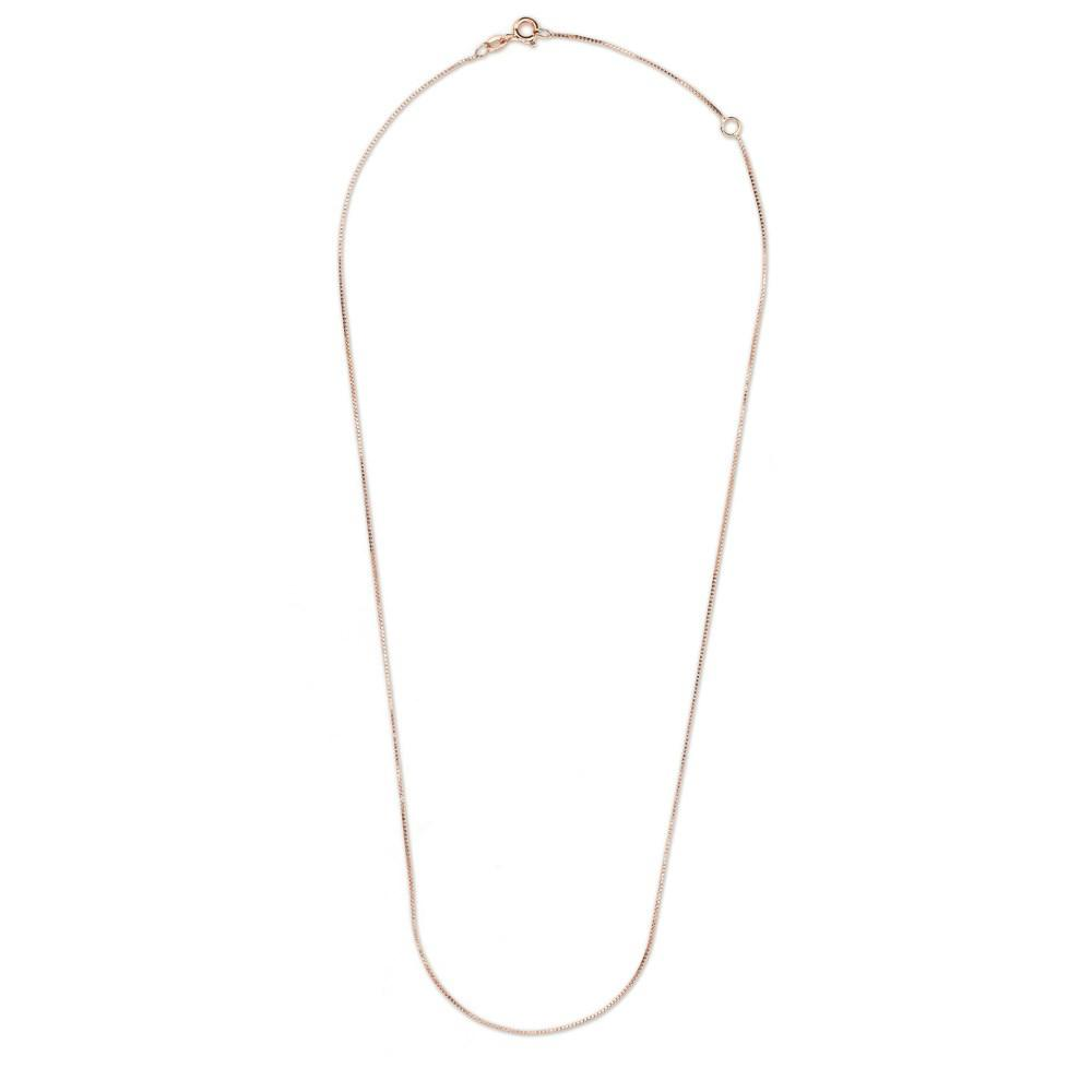 Venetian Chain With Rose Gold 18K - 0,77Mm 65C