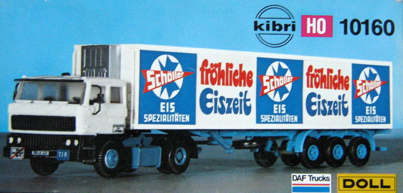 KIBRI # 10160 - TRACTOR AND REFRIGERATED TRAILER