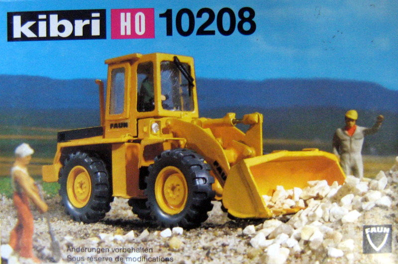 KIBRI # 10208 - WHEELED LOADER - HO Scale