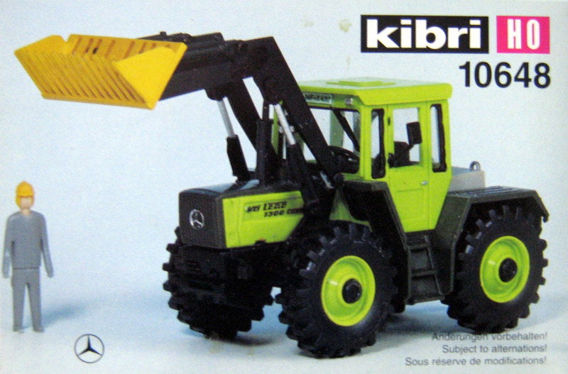 KIBRI # 10648 - FRONT END LOADER - HO Scale