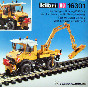 KIBRI # 16301 - RAIL MOUNTED UNIMOG
