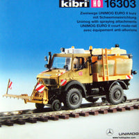 KIBRI # 16303 - UNIMOG WITH SPRAYING ATTACHMENT