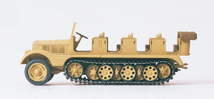PREISER MILITARY # 16544 - HALF-TRACK VEHICLE