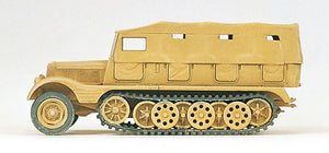 PREISER MILITARY # 16562 - HALF TRACK VEHICLE-GERMAN REICH