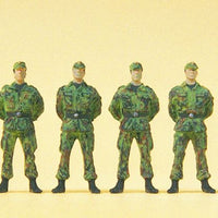 PREISER MILITARY # 16839 - STANDING SOLDIERS - FRG