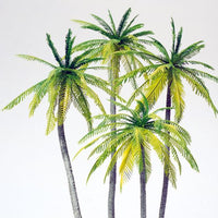 PREISER # 18600 - PALM TREES - 1:87 SCALE