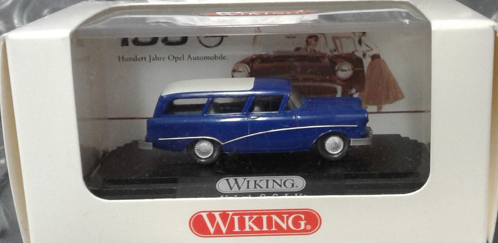 WIKING # 79908 - OPEL CARAVAN '57 - 1:87 SCALE