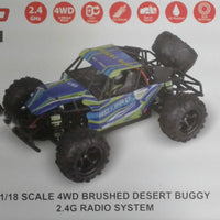 RC-PRO - DESERT RUSH - 1/18 SCALE 4WD BRUSHED DESERT BUGGY