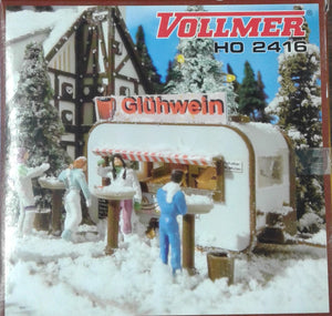 VOLLMER # 2416 - Mulled Wine Kiosk - HO Scale Kit