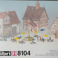 KIBRI # 8104 - Rural Assortment - HO scale Kit