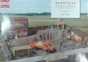 Busch # 1053 - Construction Site - HO Scale