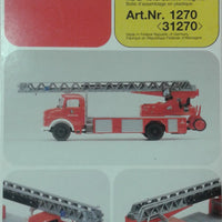 PREISER # 31270 - FIRE VEHICLE -  HO SCALE