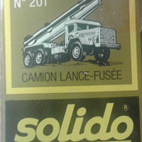 "SOLIDO # 201 - Rocket Launching Vehicle - ""Camion Lance-Fusee"""