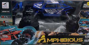 RC-PRO - ROCK ROVER - Blue - 1/12 SCALE 4WD AMPHIBIOUS CRAWLER