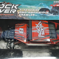 RC-PRO - ROCK ROVER - RED - 1/12 SCALE 4WD AMPHIBIOUS CRAWLER