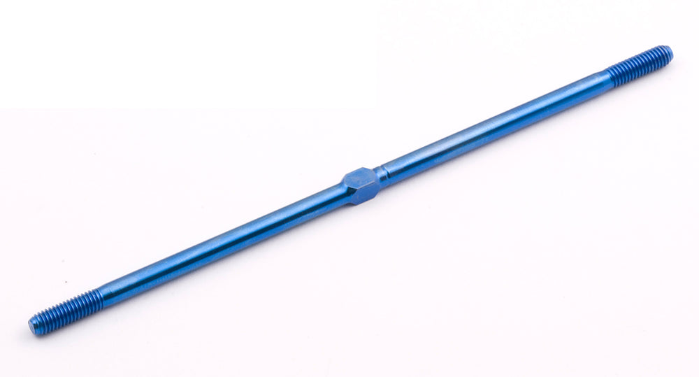 TEAM ASSOCIATED # 25381 - MGT BLUE TITANIUM FRONT TURNBUCKLE