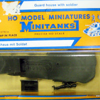 ROCO MINITANKS # 258 - GUARD HOUSE WITH SOLDIER
