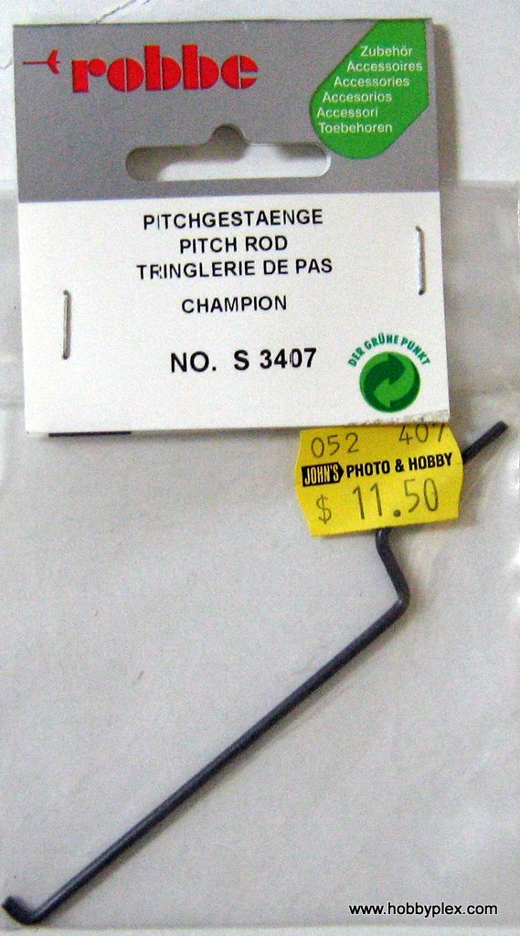 ROBBE # S 3407 - PITCH ROD (CHAMPION_