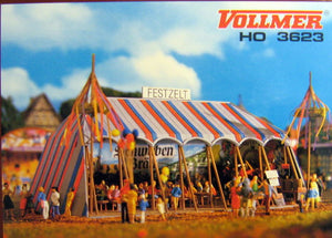 "VOLLMER # 3623 - ""FESTZELT FUN FAIR TENT"""