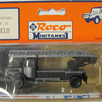 ROCO MINITANKS # 418 - MILITARY LADDER TRUCK