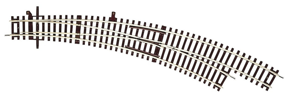 ROCO # 42471 - CURVED TURNOUT - HO SCALE