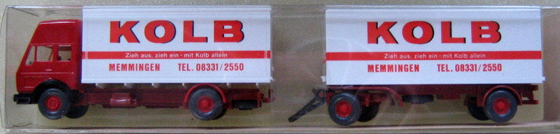 WIKING # 459 - MB TRUCK WITH TRAILER