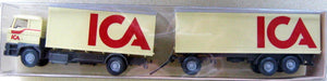 "WIKING # 467 - TRUCK WITH TRAILER ""ICA"""