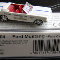 "BUSCH # 47504 - 1964 FORD MUSTANG ""PACE CAR"""