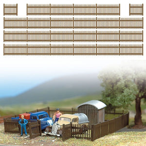 Busch 6007 - Wooden Fence - HO scale