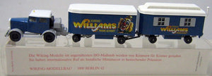 "WIKING # 853 TRUCK ""CIRCUS WILLIAMS"""
