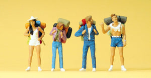 PREISER # 65315 - 1:43 SCALE FIGURES - 'HITCHHIKERS'