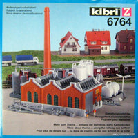 KIBRI # 6764 - FACTORY HALL WITH FUEL TANKS
