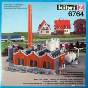 KIBRI # 6764 - FACTORY HALL WITH FUEL TANKS - Z Scale