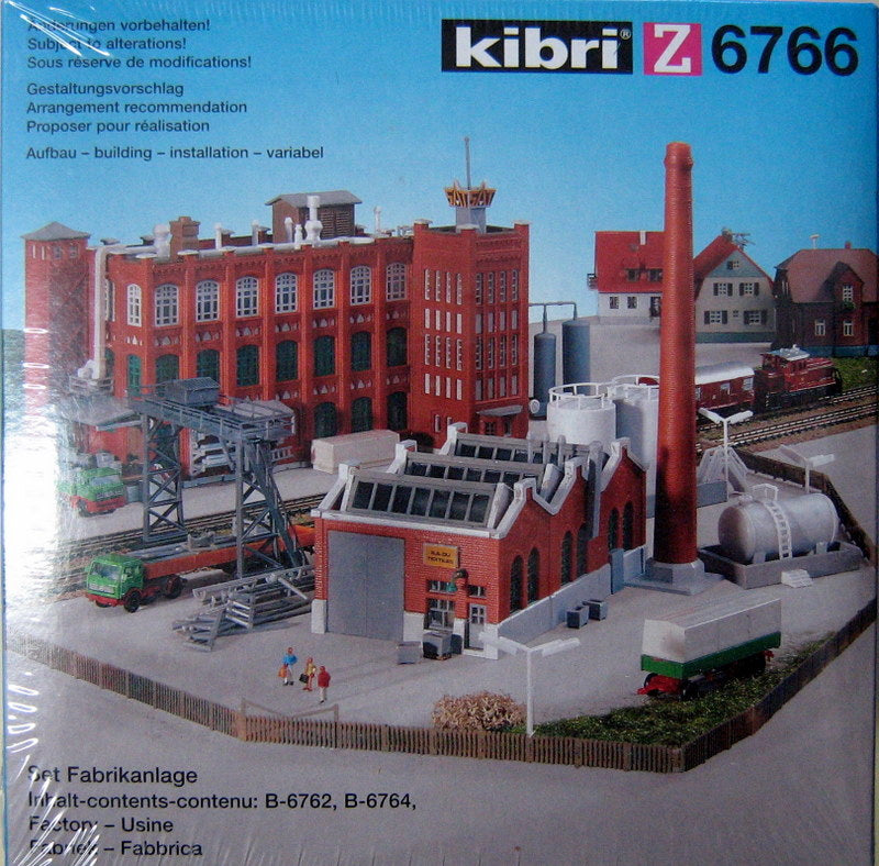 KIBRI # 6766 - Z SCALE FACTORY SET