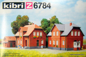 KIBRI # 6784 - FACTORY DWELLINGS - Z Scale