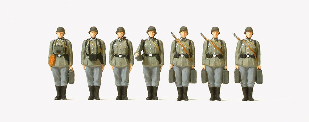 PREISER MILITARY # 72536 - 1:72 SCALE-  INFANTRY RIFLEMEN