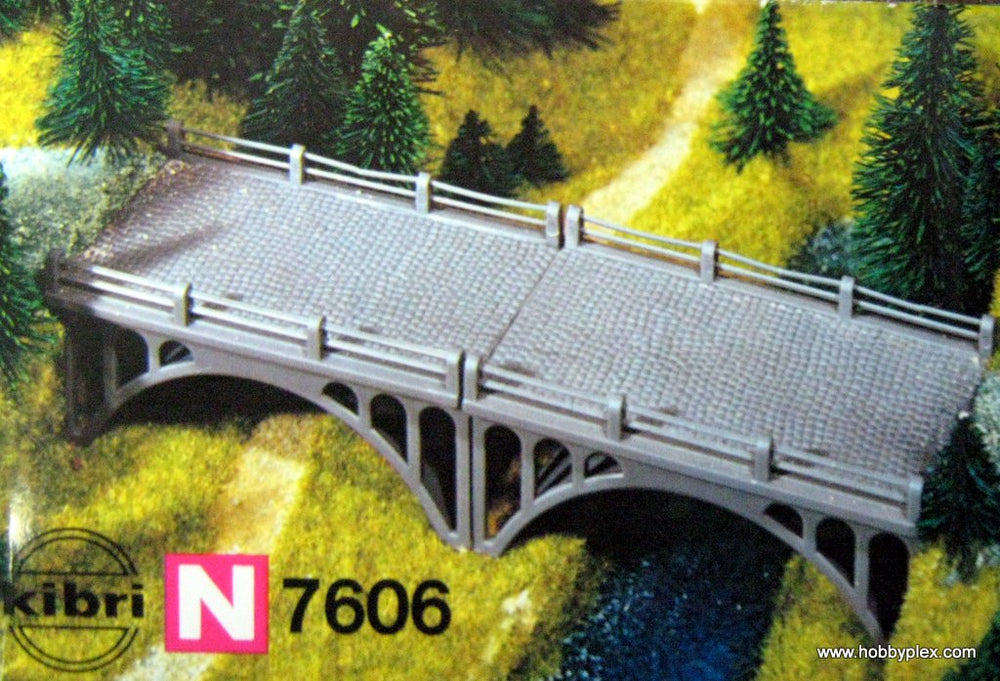 KIBRI # 7606 -  ROAD BRIDGES