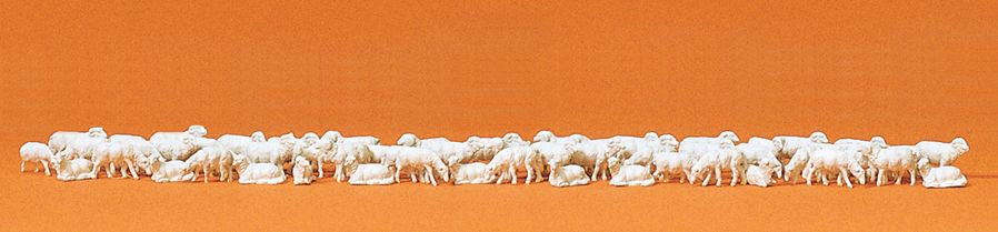 PREISER # 79252 - SHEEP -  N SCALE