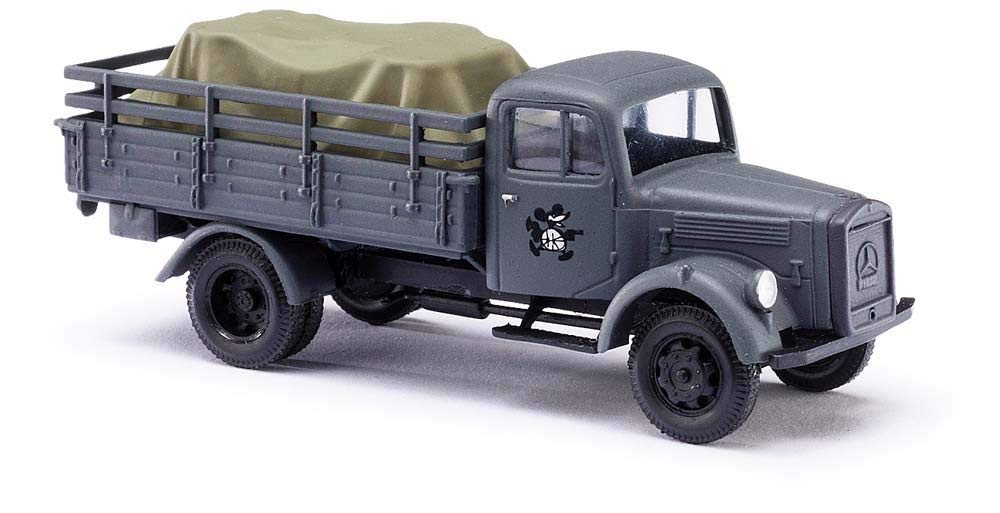 BUSCH # 80081 - MILITARY VEHICLE - 1/87 SCALE