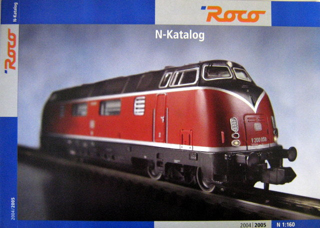 ROCO N SCALE CATALOG 2004/05-GERMAN
